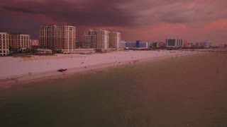 Aerial Florida Tampa July 2017 Sunset 4K Inspire 2