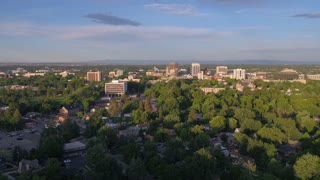Aerial Idaho Boise June 2017 Sunny Day 4K Inspire 2 ProRes