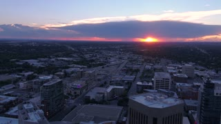 Aerial Idaho Boise June 2017 Sunset 4K Inspire 2 ProRes