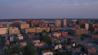 Aerial Maine Portland July 2017 Sunset 4K Inspire 2