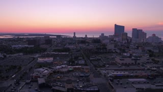 Aerial New Jersey Atlantic City July 2017 Sunrise 4K Inspire 2