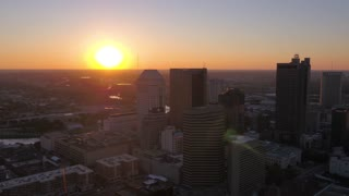 Aerial Ohio Columbus July 2017 Sunset 4K Inspire 2