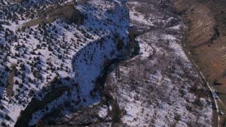 Aerial Oregon Warm Springs Reservation