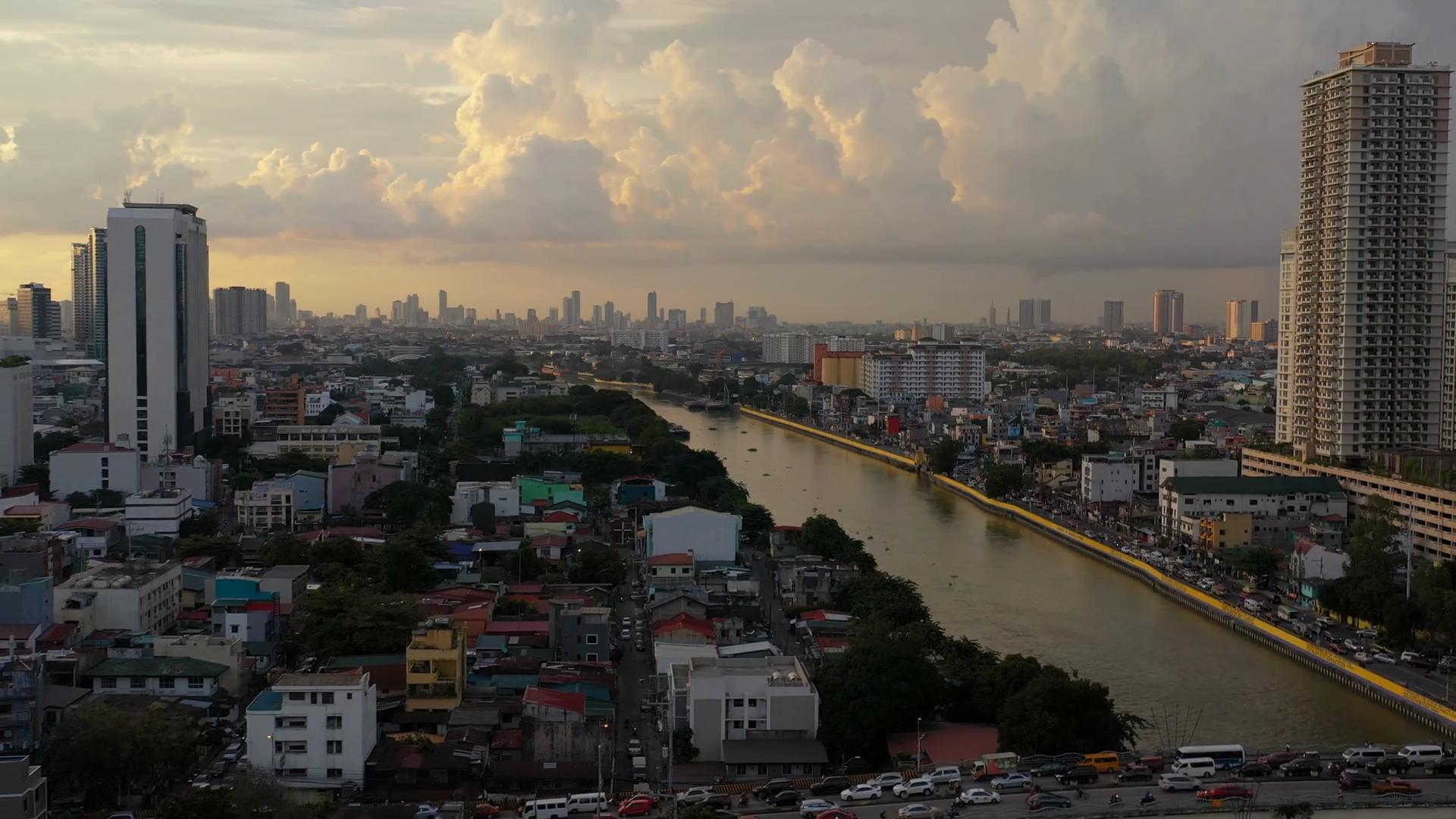 Aerial Philippines Manila Mandaluyong City September 2019
