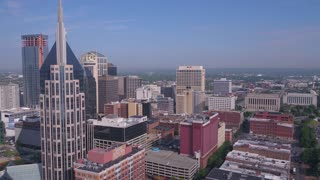 Aerial Tennessee Nashville July 2017 Sunny Day 4K Inspire 2