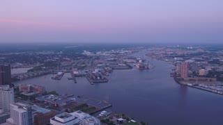 Aerial Virginia Norfolk July 2017 Sunrise 4K Inspire 2