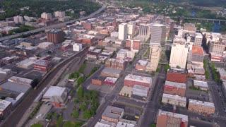 Aerial Washington Spokane June 2017 Sunny Day 4K Inspire 2