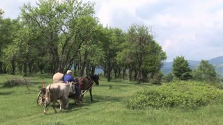 2 man on the countryside of Bulgaria