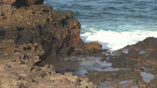 Blowhole Maui,Hawaii