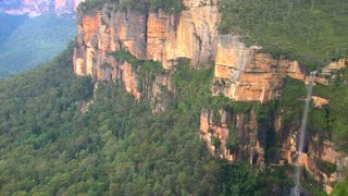 Blue mountains close to Sydney,Australia