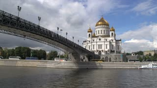 Bridge to the Cathedral of christ the saviour