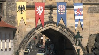 Bridge tower near Charles Bridge, Prague