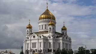 Cathedral of christ the saviour time lapse