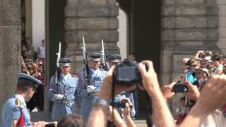 Changing of the Guard, Prague