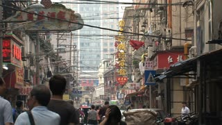 Chinese street, Shanghai