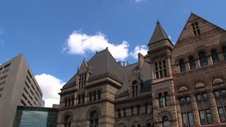 City hall Time lapse downtown Toronto