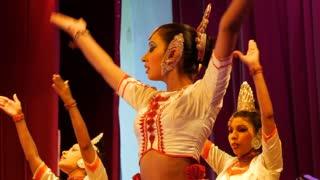 Close up from the Puja natuma, Kandyan Dancers of Sri Lanka.