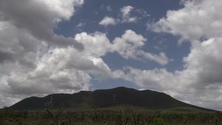 Clouds shadow on the mountains time lapse at the Stirling Ranges, Western Australia