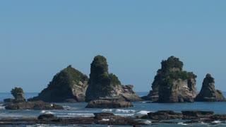 Coastline Southern Island New Zealand