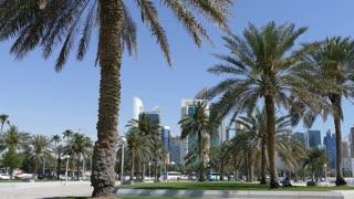 Corniche Promenade in Doha Qatar