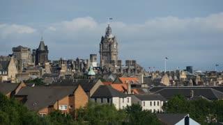Edinburgh Scotland view from Holyrood Park