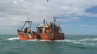 Fishingship, Patagonia, Argentina