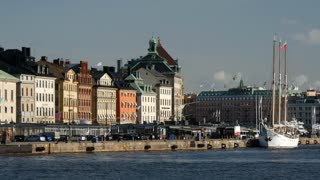 Gamla stan old town in Stockholm Sweden
