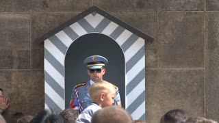 Guard at Prague castle, Prague
