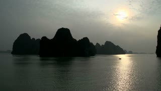 Ha Long Bay mountains