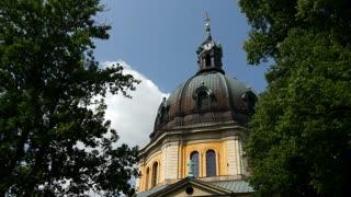 Hedvig Eleonora Church in Stockholm Sweden