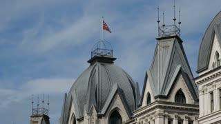 Historical buildings in Oslo Norway
