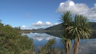 Lake lanthe in Southern Island, New Zealand