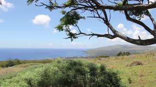 Landscape Hanga Roa Easter Island, Rapa Nui