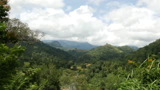 Landscape time lapse from the Central Province, Sri lanka