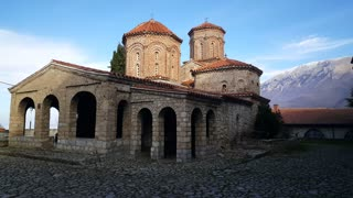 Monastery Saint Naum Ohrid's in Saint Naum Macedonia