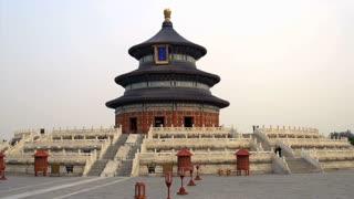 Morning tilt to the Temple of Heaven in Beijing