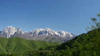 Mountains around Jablanica in central Bosnia and Herzegovina situated on the Neretva river and Jablanica lake