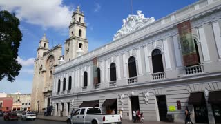 M̩rida Cathedral in Merida Yucatan, Mexico