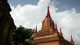 Pagoda in Bagan, Myanmar, Burma