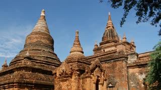 Pagodas in Bagan, Myanmar, Burma