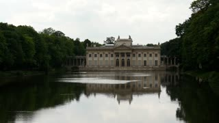 Palace on the Water in Łazienki Park Warsaw Poland
