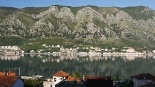 Pan from Kotor bay Montenegro