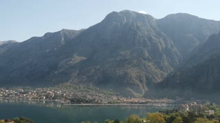 Pan from Kotor bay Montenegro