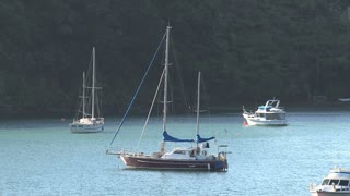 Picton, New Zealand, Southern Island, ferry, boat, transport, to, norther, island, harbor, sea, tourism, zoom-out
