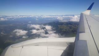 Prepare for landing in to La Aurora International Airport Guatemala City