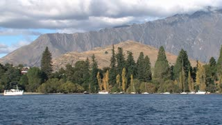 Queenstown at the Southern Island, New Zealand
