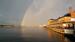 Rainbow and the Stockholm photography museum
