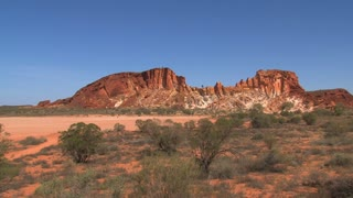 Rainbow valley in the outback of Alice Springs,Australia