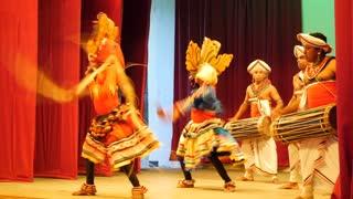 Raksha natuma, devil dance Kandyan Dancers Sri Lanka