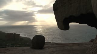 Remarkable rock timelapse at the Kangaroo island in Australia